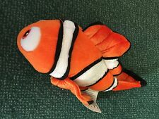 Disney Finding Nemo Plush Stuffed Animal Authentic Disney Store 10 Mini Bean