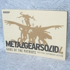 METAL GEAR SOLID 4 Tactical Espionage Action Booklet Art Book Ltd *