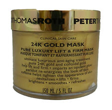 Peter Thomas Roth 24K Gold Mask Pure Luxury Lift & Firm Mask 5 Ounce (Unboxed)