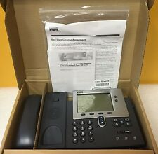 Cisco CP-7940G, 2 Port Ethernet Switch, HAC Handset, Unified IP Telephone