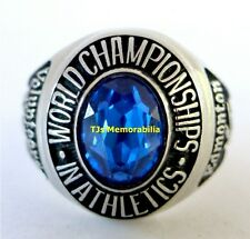 2001 WEST VIRGINIA MOUNTAINEERS WORLD CHAMPIONS ATHLETICS CHAMPIONSHIP RING