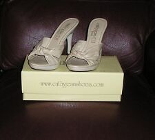 CATHY JEAN BRAZIL NEW! BEIGE LEATHER MADE IN BRAZIL AS 67-3200-99