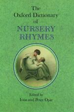 The Oxford Dictionary of Nursery Rhymes-ExLibrary