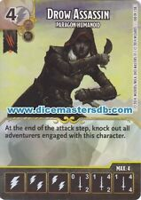 Drow Assassin Paragon Humanoid #100 - Dungeons & Dragons Battle - Dice Masters