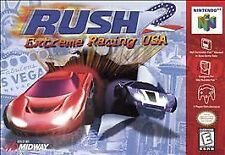 Rush 2: Extreme Racing USA (Nintendo 64, 1998) Game Cartridge