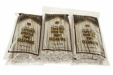BJ Long Extra Long Tapered Bristle Pipe Cleaners 80 Pack - 6 Pack
