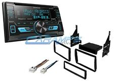 NEW KENWOOD CAR STEREO RADIO SIRIUS XM READY WITH INSTALLATION KIT AND HARNESS