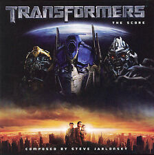 LIKE NEW  TRANSFORMERS: The SCORE CD by Steve Jablonsky (RARE)