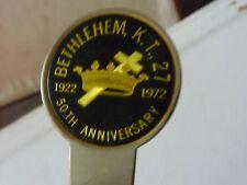 #1/4 vtg letter opener 7'' L Adv  50tyh years BETHLEHEM K.TT 27  1922 to 1972
