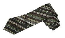 Trachtenband Trachtenbinder Trachtenkrawatte Herren Braun Grün