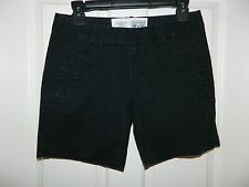 CONVERSE ONE STAR juniors womens Black Walking Casual SHORTS* 4
