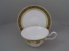 WEDGWOOD INDIA PEONY CUP AND SAUCER, 1st, MADE IN ENGLAND