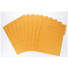 A4  Kraft File Folder Presentation Document Wallets Folder Book File 10pcs