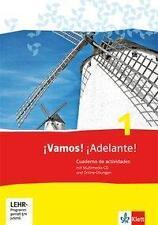 ¡ Vamos! Adelante! 1. Arbeitsheft mit Multimedia-CD und Online-Übungen