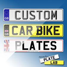 New & remplacement voiture plaques de numéro, show plaques, plaques d'immatriculation-fast p&p
