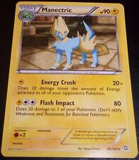 Manectric # 43/124 B&W Dragons Exalted Set Pokemon Trading TCG Cards Rares NM