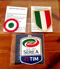 2016-17 JUVENTUS SERIE A & Scudetto & COPPA ITALIA STILSCREEN BADGE Set di PATCH