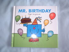 Roger Hargreaves - Mr Birthday (hardback) added sparkle