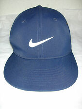 NIKE Logo 2011 Victory  FlexFit  Blue Sports Ball Cap Hat