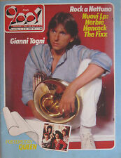 CIAO 2001 38 1984 Gianni Togni Queen Icehouse Fixx Alice Herbie Hancock AC/DC