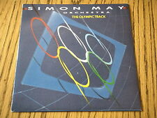 """SIMON MAY ORCHESTRA - THE OLYMPIC TRACK   7"""" VINYL PS"""