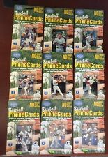 1995 CLASSIC $10 PRE-PAID PHONE CARD LOT (16) no Mattingly value expired  BBLT97