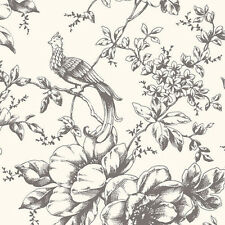 Historical Bird and Floral Wallpaper Double Roll Bolts FREE SHIPPING