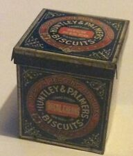 Vintage Miniature Huntley & Palmers Rich Mixed Biscuits Tin