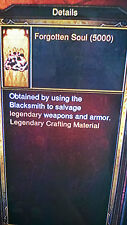 DIABLO 3 FORGOTTEN SOULS 50.000 KANAI'S CUBE MAIN CRAFT ITEM XBOX ONE  Softcore