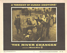 The River Changes 1956 11x14 Lobby Card #2
