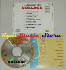 CD I COLLAGE SUCCESSI 1988 EEC INTERNATIONAL JOKER CD 44133 mc lp dvd vhs