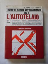 LUCCHESI - CORSO DI TECNICA AUTOMOBILISTICA VOL. 2 - HOEPLI