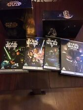 Used Star Wars - The Original Trilogy (DVD, 2006, 4-Disc Set, Box Set) Tin set