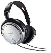 Philips SHP2500/10 Tamaño Completo Sobre las Orejas Auriculares Auriculares Estéreo de TV Cable 6M Nuevo