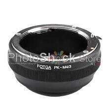 Anello Adattatore Obiettivi Pentax PK K su Micro M4/3 Mount Adapter Ring