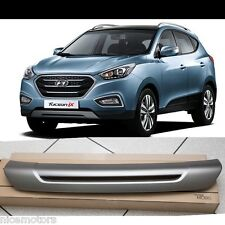 ix35 Front Bumper Skid Plate Metal SILVER For Hyundai Tucson 2014 2015