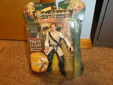 "Disney WILL TURNER Pirates of Caribbean Dead Man's Chest Sword figure 7"" Inch"
