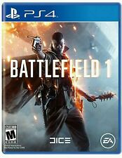 BATTLEFIELD 1 * PLAYSTATION 4 * BRAND NEW FACTORY SEALED!