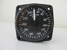 Air speed indicator, 2 inch, U.M.A. Inc., PN: 16-100-1