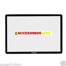 PROTECTOR DE PANTALLA  PARA CANON EOS 7D DSLR ,FABRICADO EN  CRISTAL OPTICO  LCD