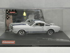 Carrera 25428 Evolution Slot Car Ford Mustang GT 350  Jahr 1966