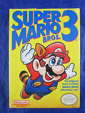 RARE Factory Sealed 1990 Super Mario Brothers 3 III  Nintendo NES H Seam
