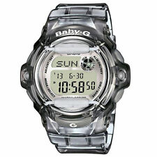 *NEW* CASIO LADIES BABY G GREY WORLD TIME WATCHBG169R-8ER RRP ££99