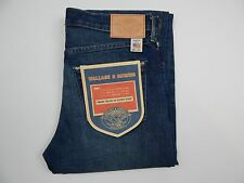 Wallace and Barnes J. Crew Faded Slim Straight Selvedge Jean men's sz 29 x 32