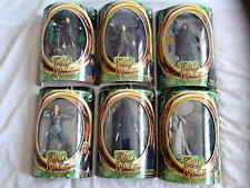 6 TOYBIZ LORD OF THE RINGS FIGURES (FRODO, SAM, STRIDER, LEGOLAS, RINGWRAITH +)