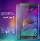 Premium Real Tempered Glass Screen Protector Film Guard For Samsung Galaxy Note4