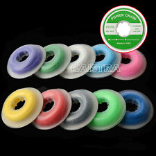 10Packs Dental Ortho Elastolink Elastic Continuous Colorful Ultra Power Chain