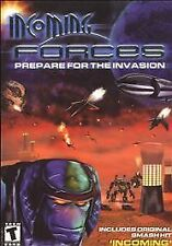 INCOMING FORCES Space Sim PC Game Win95-XP Role Playing Vintage Video Game 2002