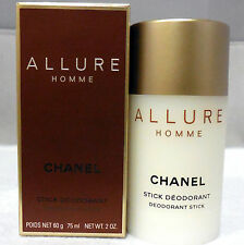 CHANEL ALLURE HOMME DEODORANT STICK 75 ML/2 OZ.