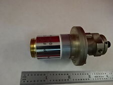 MICROSCOPE PART OBJECTIVE LEICA GERMANY FLUOTAR 100X  OPTICS AS IS B#T3-G-01